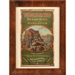 Winchester Big Game Ammunition Poster