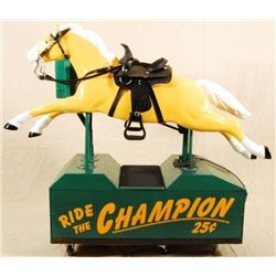 Champion Coin-Operated Horse Ride