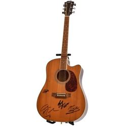 Crosby Stills, Nash, & Young Autographed Guitar