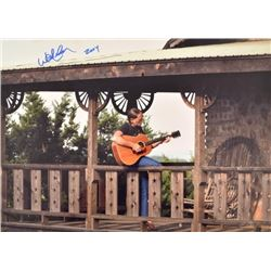 Large Willie Nelson Autographed Photograph