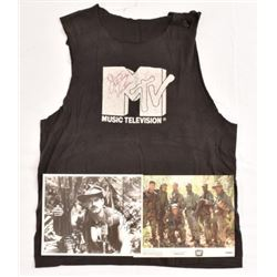 "Jesse Ventura ""Predator"" Screen Worn MTV Shirt"