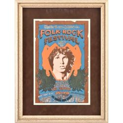 1968 Northern California Folk Rock Festival Poster