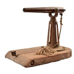 Civil War Naval Signal Cannon