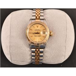 Ladies Rolex Oyster Perpetual Date Just Watch