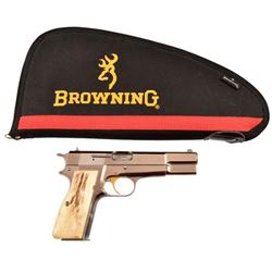 Texas Ranger Owned Browning Hi-Power 9MM