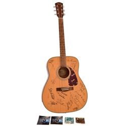 Autographed Fender Squier SD-7 Acoustic Guitar