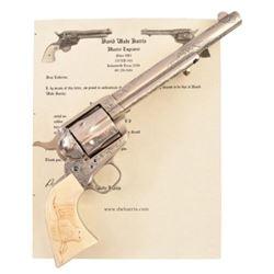 Colt 1873 Single Action .44-40 Etched Panel