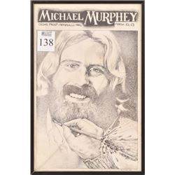 Armadillo World HQ Michael Murphey Concert Poster