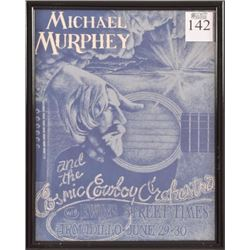 AWHQ Michael Murphey & The Cosmic Cowboys Poster