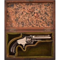 Cased Smith & Wesson Model 1 3rd Issue .22