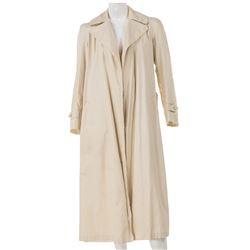 Jane Fonda signed 'Lillian' trench coat from Julia.