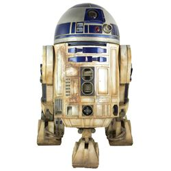 R2-D2 full-size model from Star Wars - Episode IV: A New Hope created by Industrial Light & Magic.