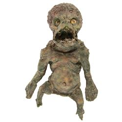 Baby humanoid stand-in puppet from Humanoids From the Deep.