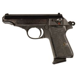 Roger Moore 'Seymour' Walther PP 9mm signature pistol from The Cannonball Run.