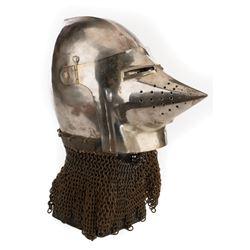 Excalibur knight's battle helmet.