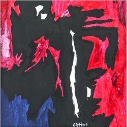 Clyfford Still American Abstract Oil on Canvas