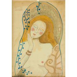 Gustav Klimt Austrian Art Nouveau Mixed Media