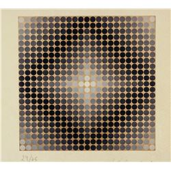 Victor Vasarely French-Hungarian Lithograph