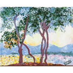 Jennifer Brudher Canadian Oil on Panel Landscape