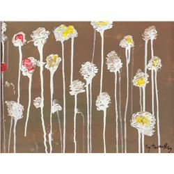 Cy Twombly American Abstract Oil on Canvas
