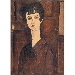 Amedeo Modiglian Italian Signed Lithograph 18/150