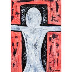 Rufino Tamayo Mexican Surrealist Oil on Canvas