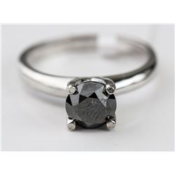 10kt Black Diamond (1.17ct) Ring