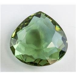 26.70 Ct Pear Cut Alexandrite Gemstone GGL