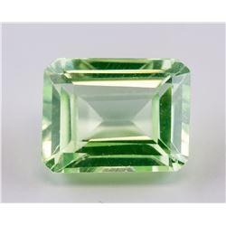 12 Ct Emerald Cut Green Natural Peridot Gemstone
