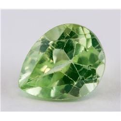 3.20 Ct Pear Cut Green Natural Peridot Gemstone