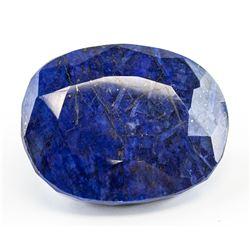 303.30 Ct Oval Cut Blue Sapphire Gemstone AGSL