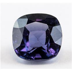6.05 Ct Cusion Cut Purple Sapphire Gemstone AGSL