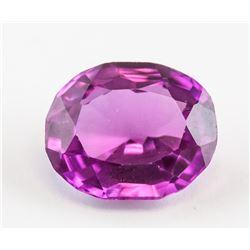 5.35 Ct Oval Cut Purple Pink Taaffeite Gemstone