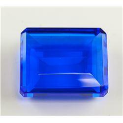199.45ct Emerald Cut Blue Topaz GGL Certificate