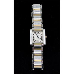 Cartier Men's 18k and Steel Automatic Watch