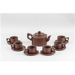 Chinese Modern Zisha Pottery Teaware Set Yixing MK