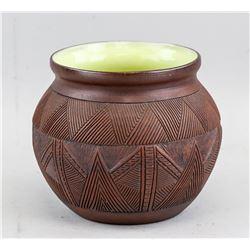 Canadian Six Nations Indigenous Pottery Jar