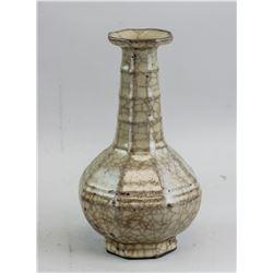 Chinese Crackle Porcelain Vase