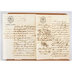 Two 19th Century Cuban Slavery Manuscripts