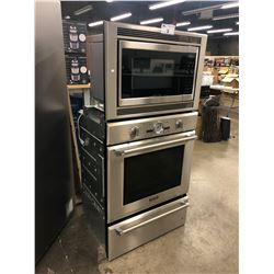 THERMADOR PROFESSIONAL COMMERCIAL GRADE CONVECTION OVEN WITH STACKING MICROWAVE