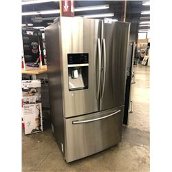 "SAMSUNG 36"" WIDE DOUBLE DOOR FRIDGE/FREEZER COMBO WITH ICE MAKER MODEL RF28HDEDBSR"