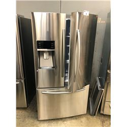 "SAMSUNG 36"" WIDE DOUBLE DOOR FRIDGE/FREEZER COMBO WITH ICE MAKER MODEL RF23HCEDBSR"