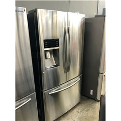 "SAMSUNG 36"" WIDE DOUBLE DOOR FRIDGE/FREEZER COMBO WITH ICE MAKER MODEL RF28HFEDBSR"