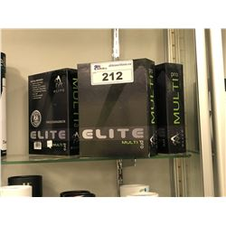 5 ELITE MULTI PRO MASSAGER KITS, MSRP $400 EACH  IN STORE