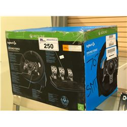 LOGITECH G920 DRIVING FORCE GAMING STEERING WHEEL/PEDALS