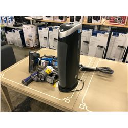 HOOVER VACUUM, DYSON VACUUM (MISSING PARTS) AND GERM GUARDIAN AIR PURIFIER