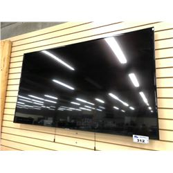 """SAMSUNG 65"""" FLAT SCREEN TV NO REMOTE (PLEASE PREVIEW)"""