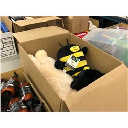 LOT OF LITTLE BUDDY BEARS AND BUMBLE BEE