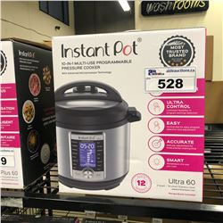 INSTANT POT 10 IN 1 MULTI USE PROGRAMMABLE PRESSURE COOKER