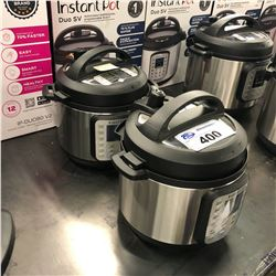 2 INSTANT POT MULTIFUNCTION PRESSURE COOKERS ON HAS NO POWER CORD